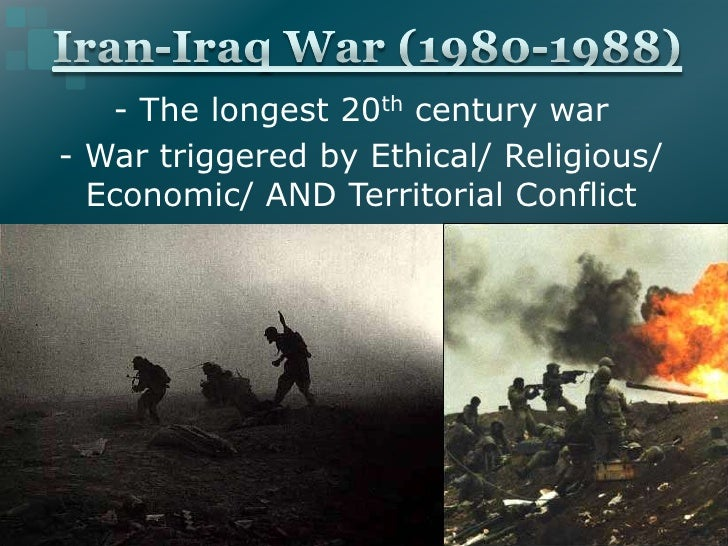 - The longest 20th century war- War triggered by Ethical/ Religious/  Economic/ AND Territorial Conflict