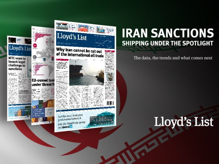 In the next 40 minutes we will…• Track the global flow of Iranian oil• Analyse the shipping industry's exposure to the Str...