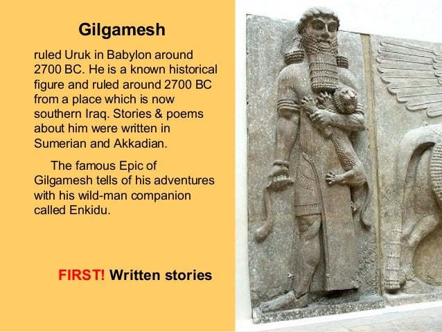 the interpretation of the story of the gilgamesh epic from the biblical perspective That the epic of gilgamesh came first, and that moses (and noah, by estimates) lived nowhere near the regional flood that spawned gilgamesh's legend, absolutely means that the bible copied the story and used it for it's own narrative.