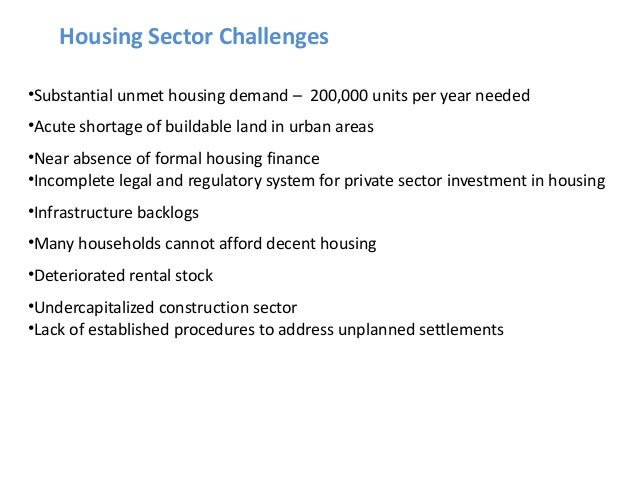 Housing policy reforms in Iraq
