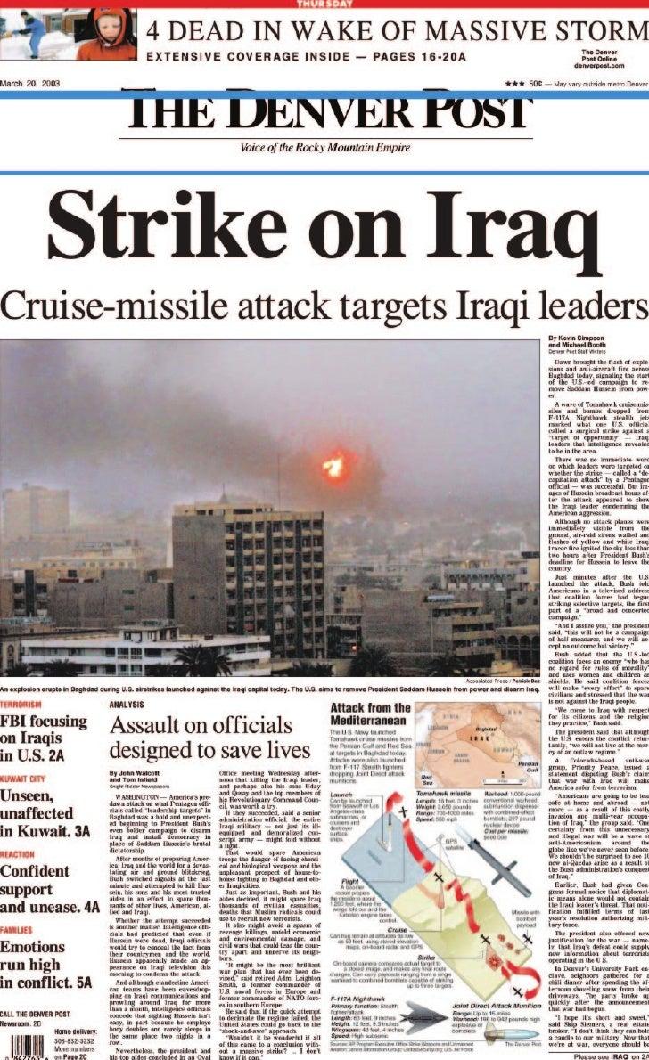 Iraq War Presentation