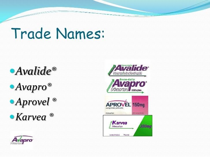 Avapro Side Effects 2011