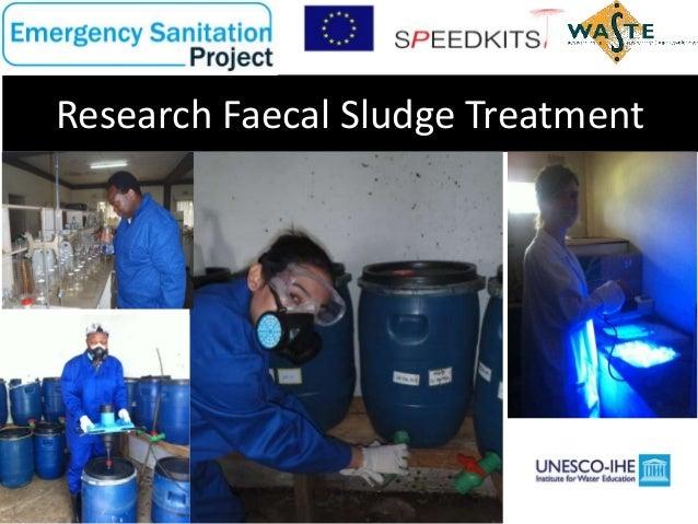Research Faecal Sludge Treatment