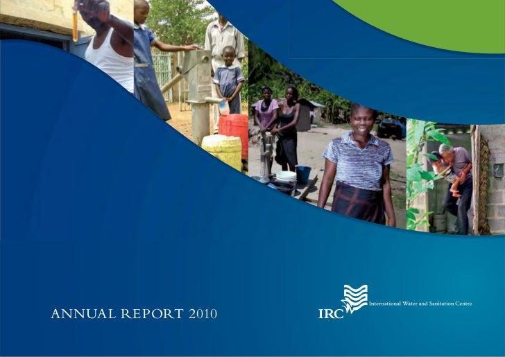 IRC annual report 2010