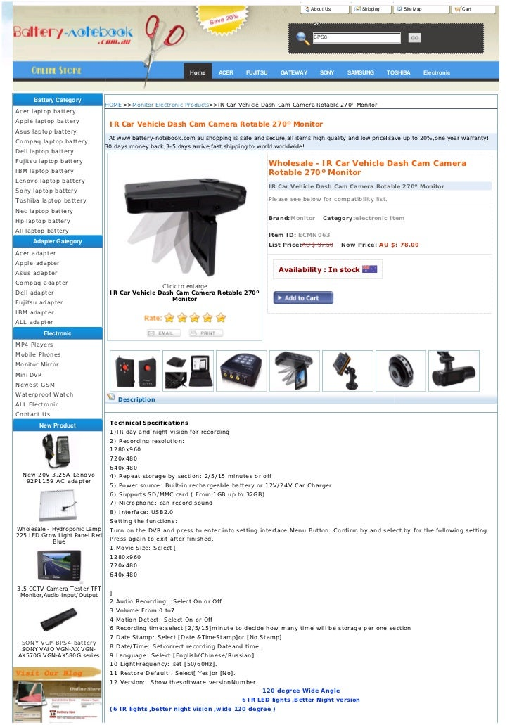 About Us        Shipping        Site Map                Cart                                                              ...