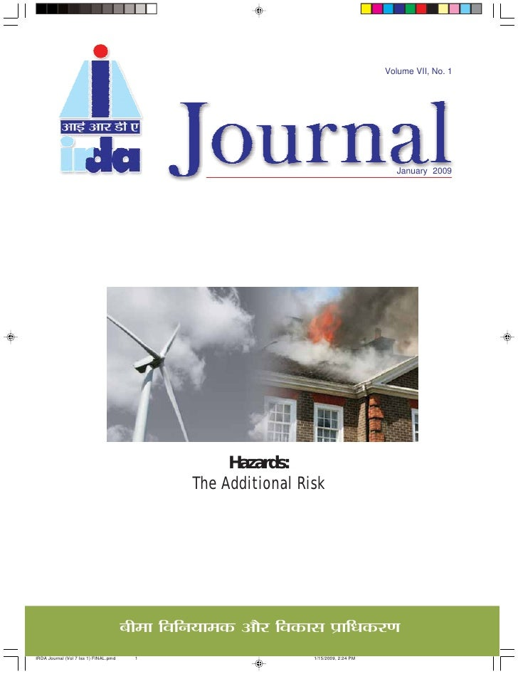 Irda Journal Jan09