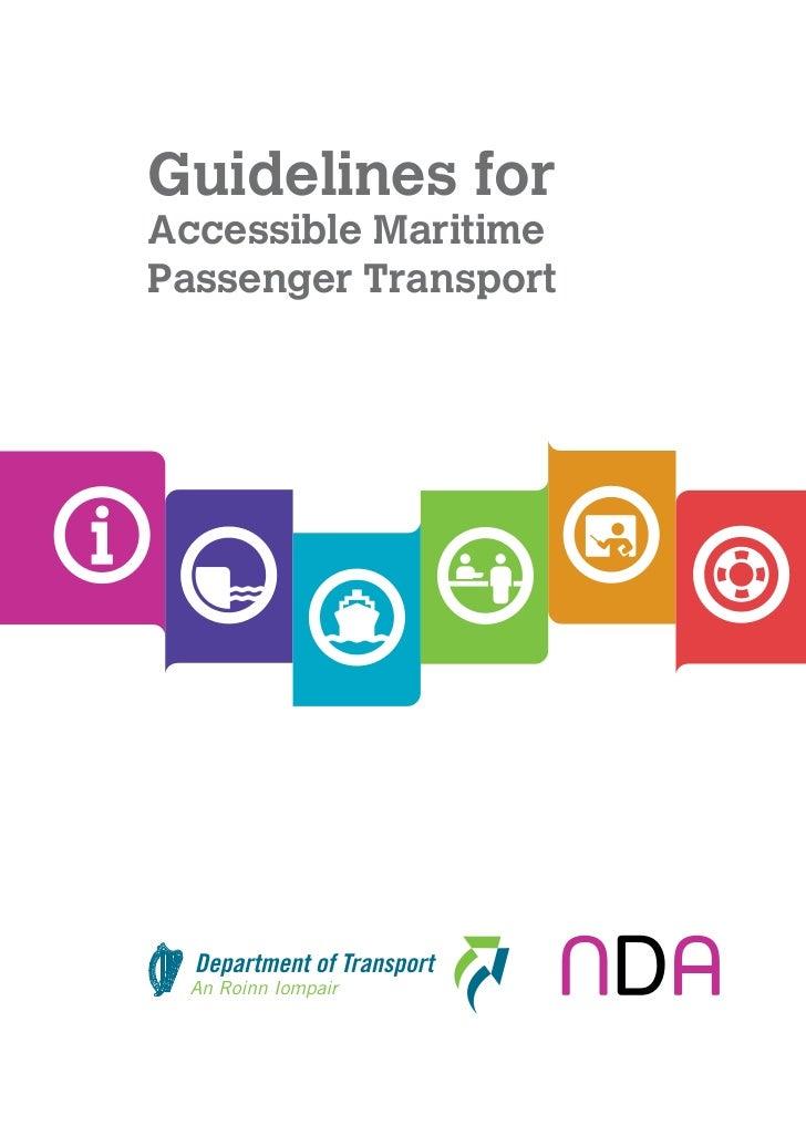 Ireland Maritime Guidelines