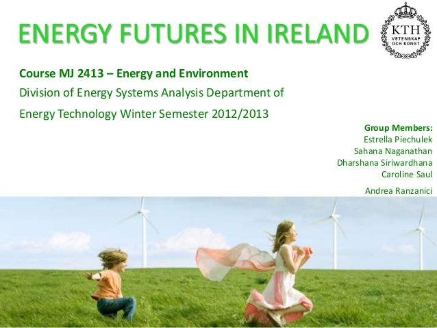 Ireland's Energy Futures