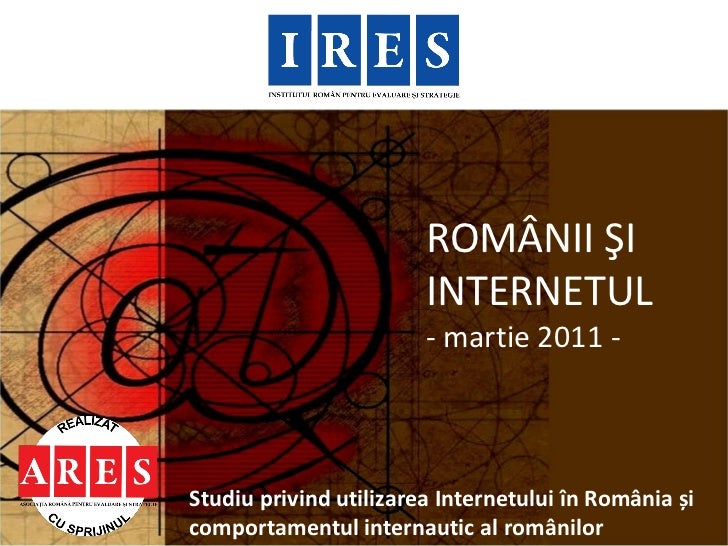 Ires romanii si_internetul_2011