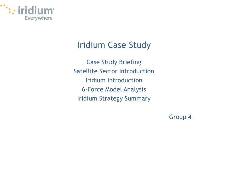 Iridium Global Strategy
