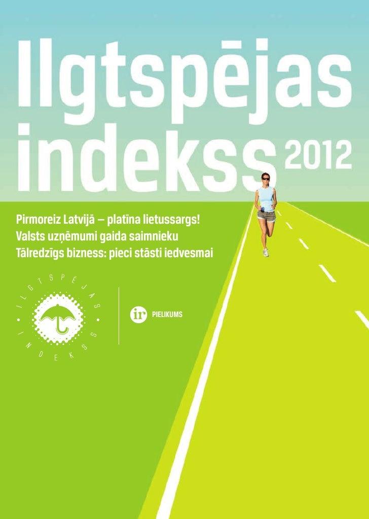 Ilgtspējas indeksa pārskats 2012
