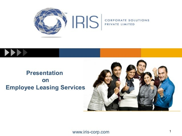 Iris-corp's Temporary Staffing and Employee Leasing Servicess
