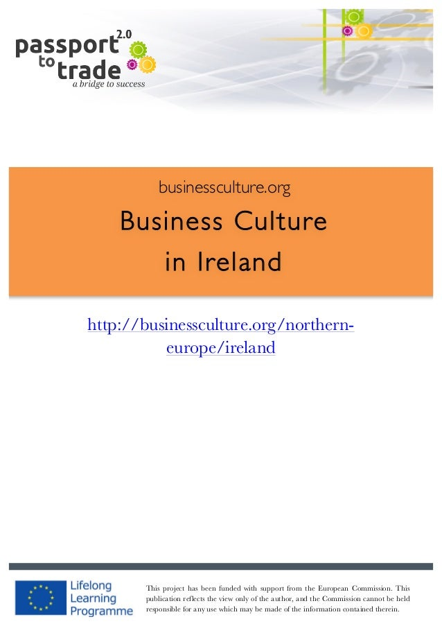 Irish business culture guide - Learn about Ireland