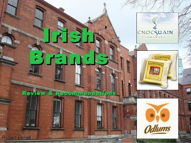 Irish            Brands         Review & RecommendationsRobert Farrell