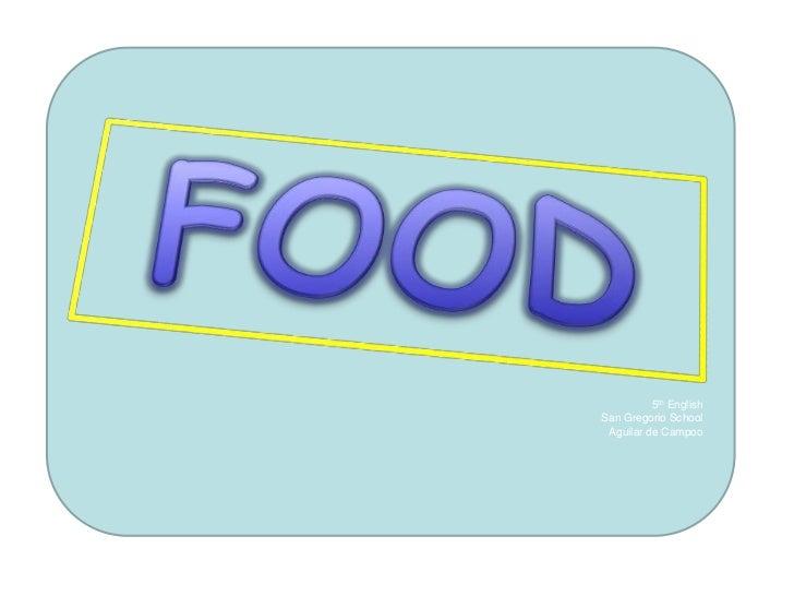 Vocabulary of food