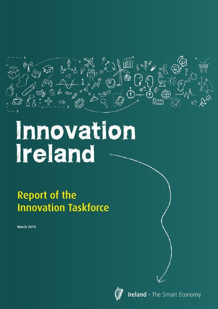 Irish Innovation Taskforce - Final Report - March 11 2010