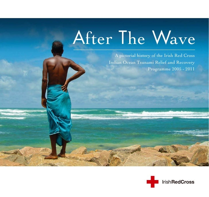 After The Wave       A pictorial history of the Irish Red Cross    Indian Ocean Tsunami Relief and Recovery               ...
