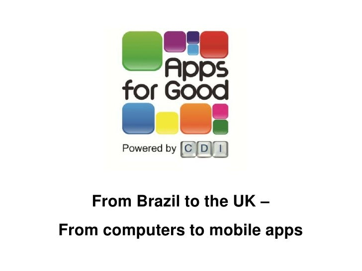 Apps for Good - CDI