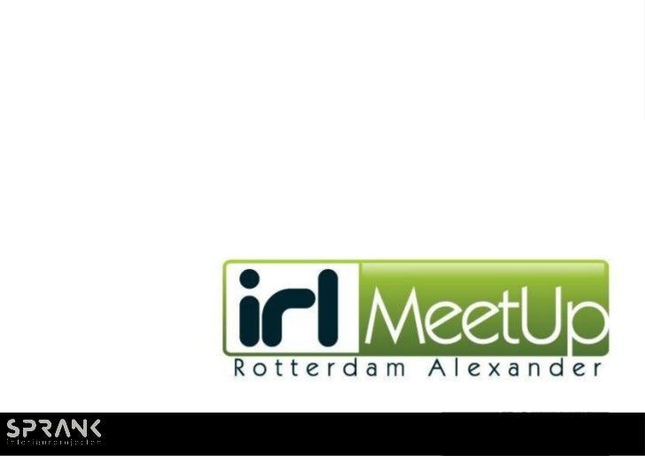 Design voorstel IRL MeetUp inspired by Seats2Meet.com