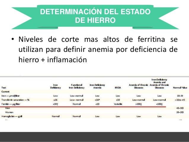 anemia por deficiencia de hierro pdf