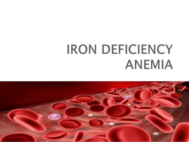 anemia types anemia iron