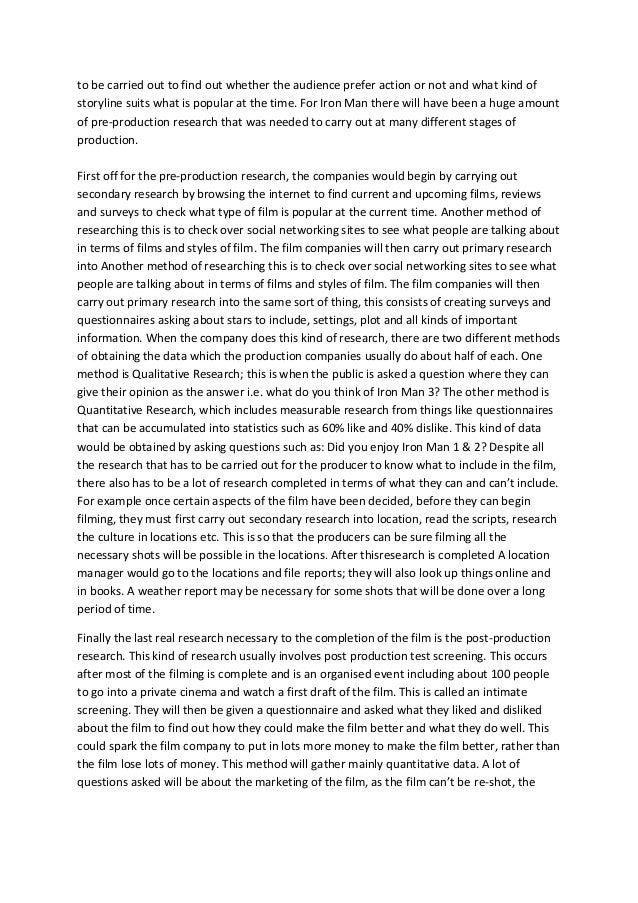 Essay about man