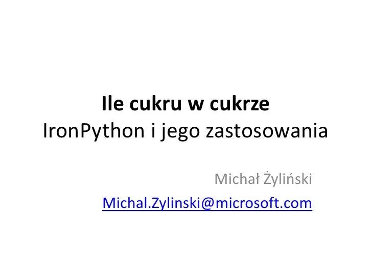 Iron Python I Dlr