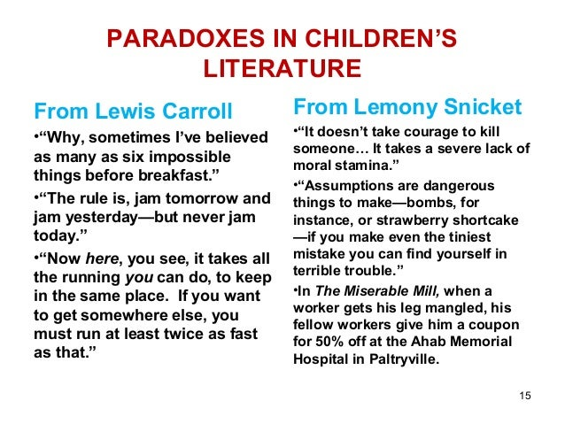 paradox examples for kids - photo #3