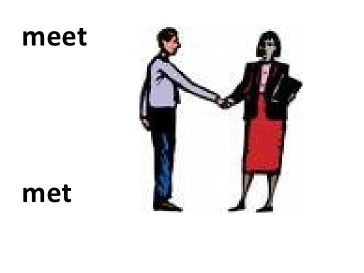 to meet verb