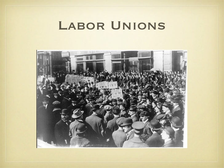 labor unions industrial revolution essay Essay child labor during the industrial revolution 969 words | 4 pages during the 18 and beginning of the 19th century in certain regions of the us child labor made up more than 40.