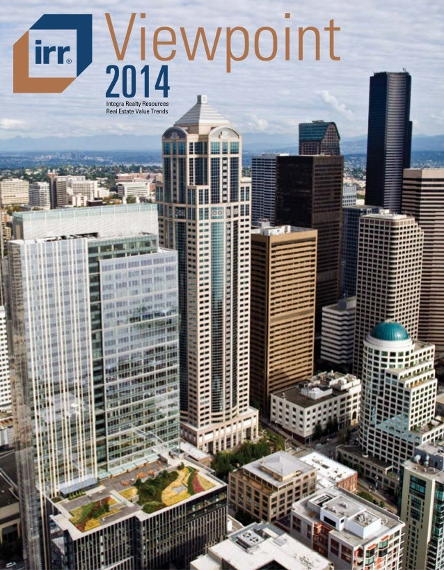 IRR View point for 2014 / Real Estate Value Trends / USA