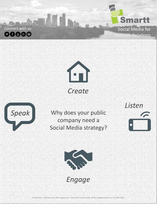 IR Smartt - 2013 Sales Sheet