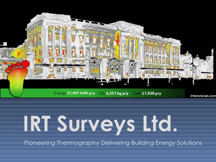 Infrared Imaging and it's place within the built environment - Alan Little, IRT Surveys (http://www.irtsurveys.co.uk/)