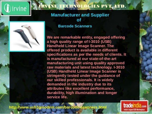 IRVINE TECHNOLOGIES PVT. LTD. Manufacturer and Supplier of We are remarkable entity, engaged offering a high quality range...