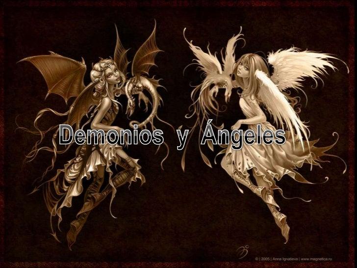 Demonios  y  Ángeles<br />