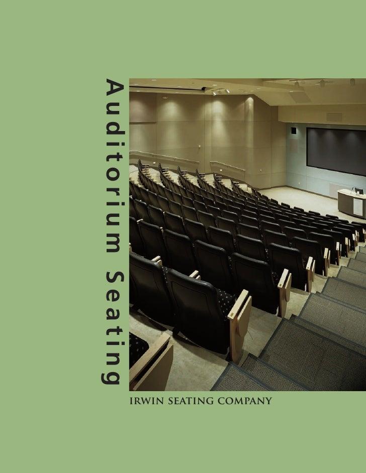 Auditorium Seating                      irwin seating company