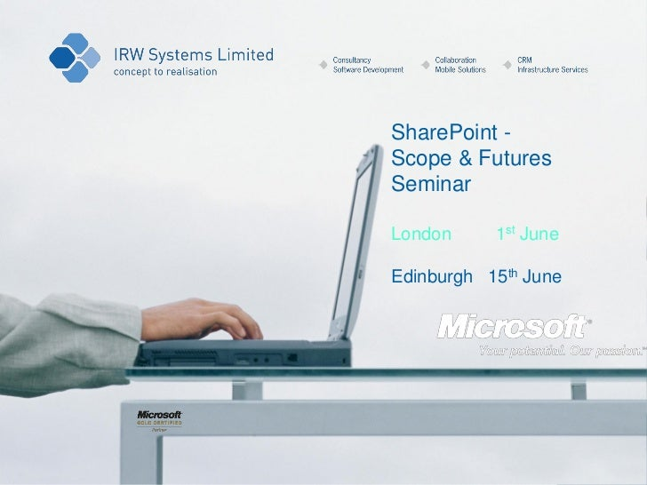 IRW Sharepoint scope and futures seminars_june_2011