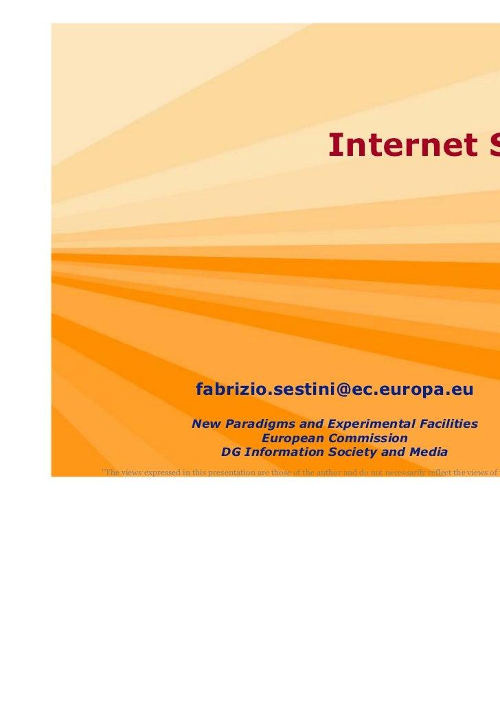 Internet Science