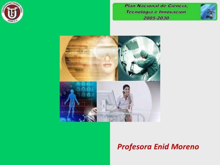 Profesora Enid Moreno