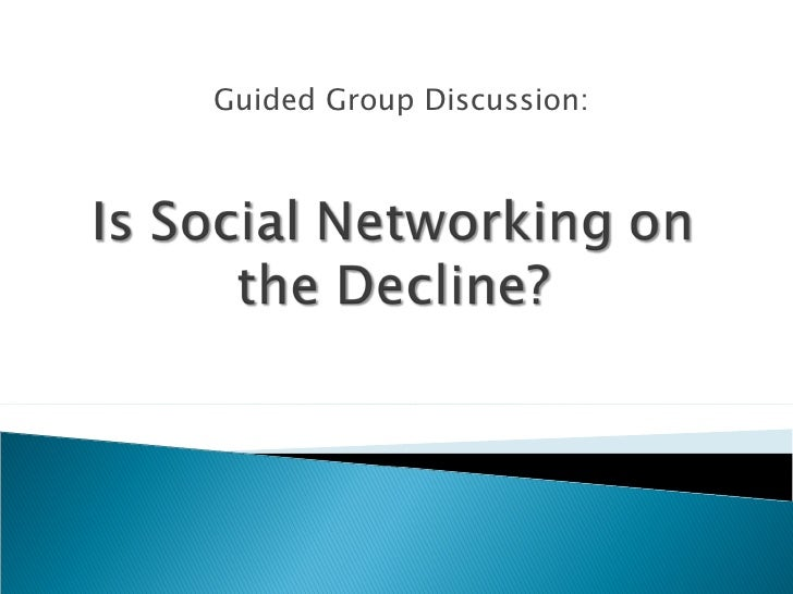 Is Social Networking On The Decline