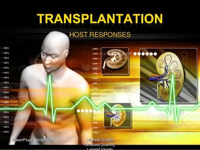 Immunology and Serology  (transplantation reactions)