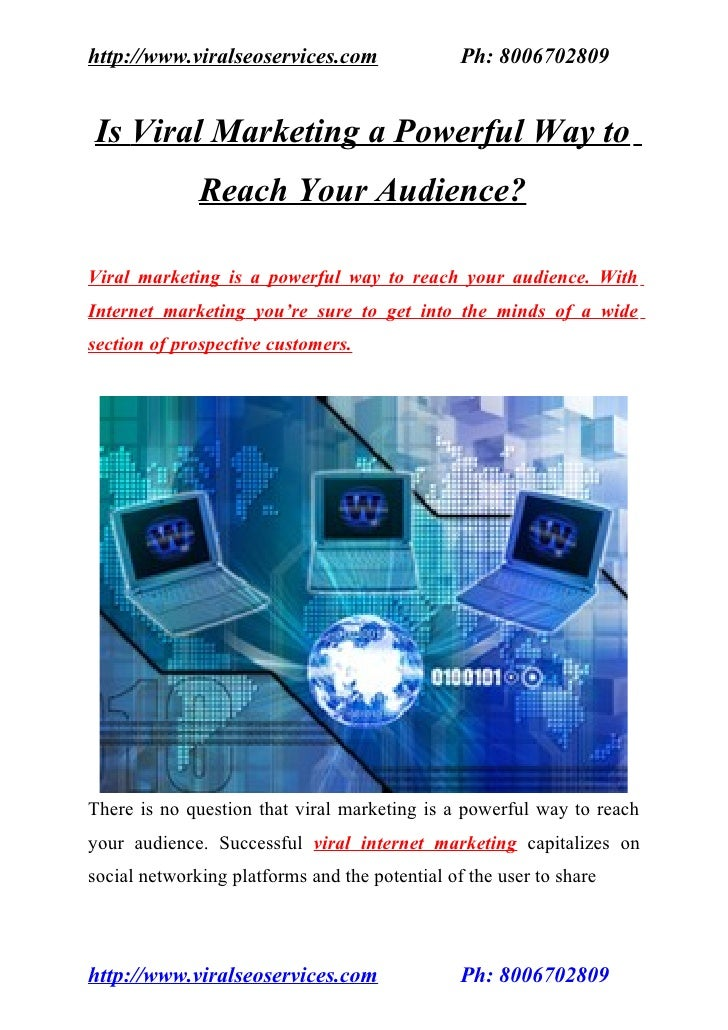 Is Viral Marketing a Powerful Way to Reach Your Audience?