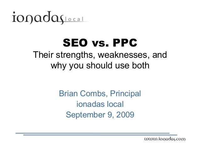 IS09 - SEO versus PPC