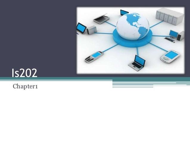 Is202 – week 1 02 march 2012