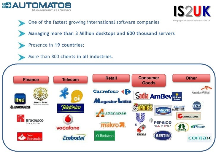IS2UK<br />Bringing International Software 2 the UK<br />One of the fastest growing international software companies<br />...