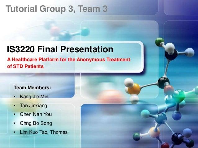 IS3220 Final Presentation