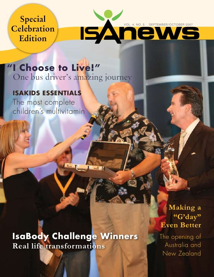 Isa News Sept Oct2007