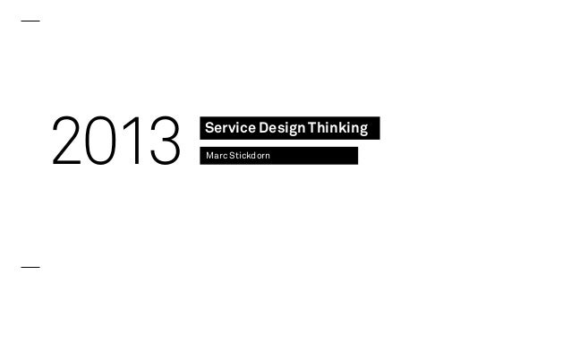 Service Design Thinking - How to successfully innovate beyond buzzwords