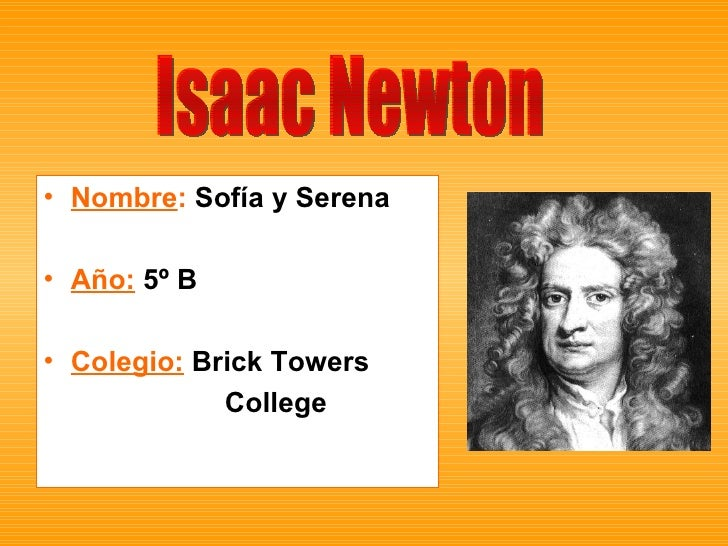 <ul><li>Nombre :  Sofía y Serena </li></ul><ul><li>Año:  5º B </li></ul><ul><li>Colegio:  Brick Towers </li></ul><ul><li>C...