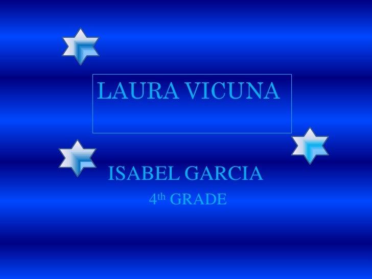 Laura Vicuna